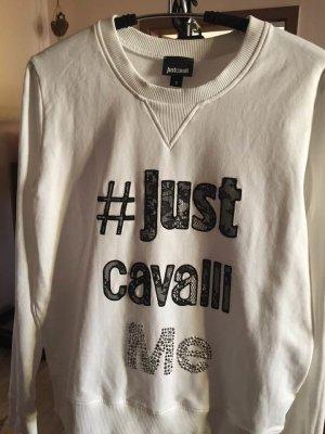 Sweatshirt mit Glitzer von Just Cavalli wie neu