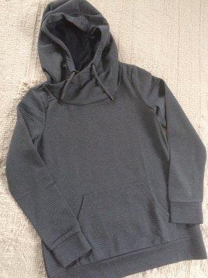 Sweatshirt mit Kapuze / dunkelgrau / Gr. S/M