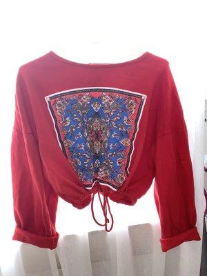Sweatshirt mit Ornamenten