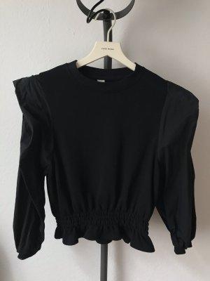Pieces Sweatshirt noir
