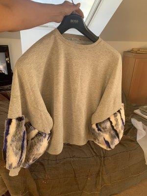 Sweatshirt mit Puffärmeln