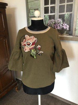 Sweatshirt mit Tulpenärmeln von Rick Cardona, Gr. 34