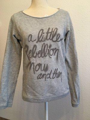 Sweatshirt mit Typo