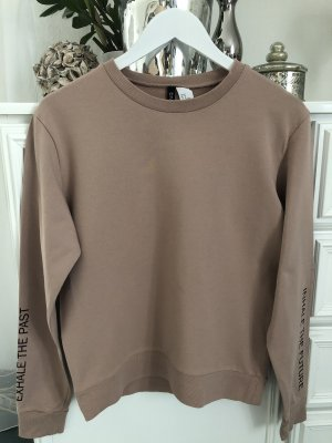 Sweatshirt / nude / Gr. M