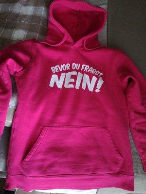 Sweatshirt pink mit Kapuze Russell L