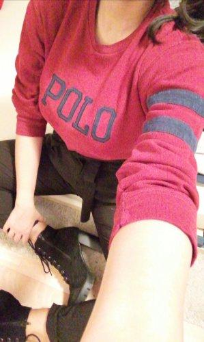 Sweatshirt Polo Ralph Lauren rot Gr.M, sehr hübsch