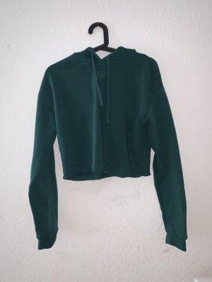 Tally Weijl Hooded Sweatshirt dark green-forest green