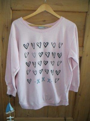 9th Avenue Sweatshirt rosé-grijs