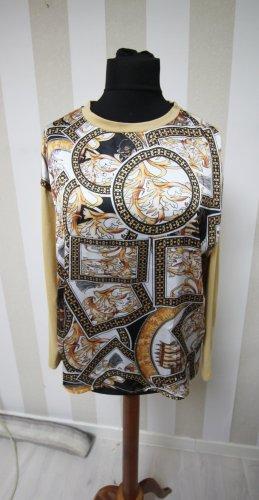 Sweatshirt noir-brun sable