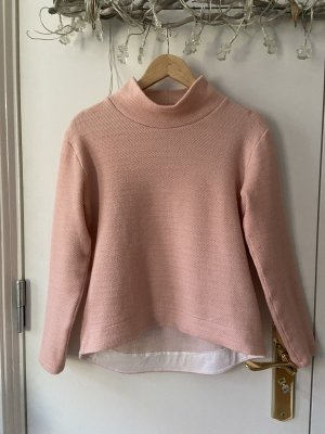 Sweatshirt Pullover Turtle Neck Gr.M Marie Lund Rosé Relaxed