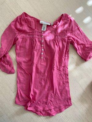 Sweatshirt, rund Hals, Pink, 3/4 Arm