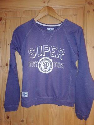 Sweatshirt Superdry graulila