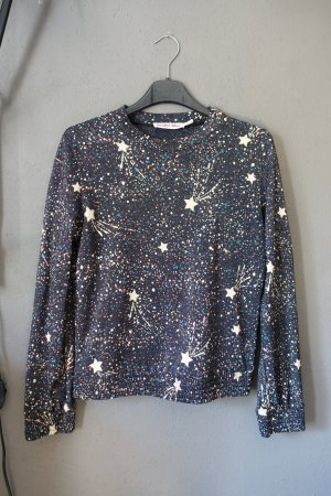 Sweatshirt, Sweater, See by Chloé, Galaxy, Galaxyprint, Sterne, Glitzer, Pulli, Pullover, Shirt