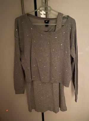 """Sweatshirt /Top """"Strass"""" von H&M"""