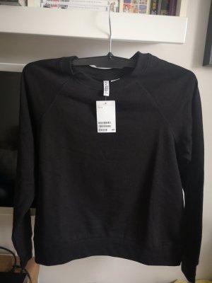 Sweatshirt von H&M Gr.S Neu mit Etikett, schwarz