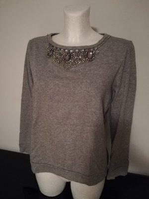 Liu jo Sweat Shirt silver-colored-light grey
