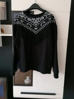 Sweatshirt von Mango, Fransen Größe S