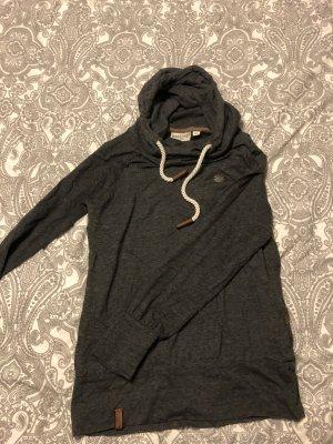 Naketano Sweatshirt met capuchon donkergrijs