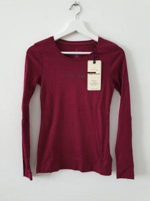 Sweatshirt Weinrot Tom Tailor