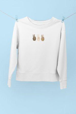 Sweatshirt XS bedruckt Diversity