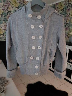 divon Veste à capuche gris clair