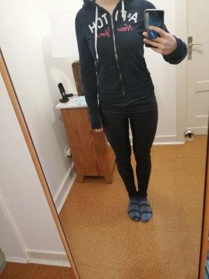 Abercrombie & Fitch Shirt Jacket slate-gray-dark blue
