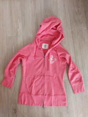 Sweatshirtjacke coral rosa lachs Farben von H&M