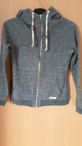 Review Chaqueta con capucha gris-gris oscuro