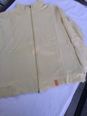 Giacca-camicia giallo chiaro