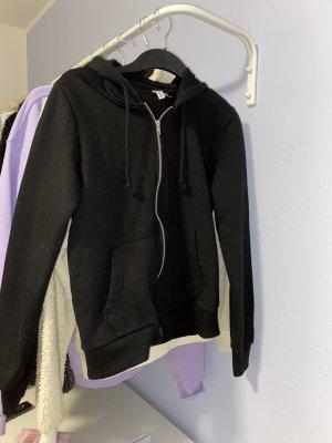 devided Chaqueta con capucha negro