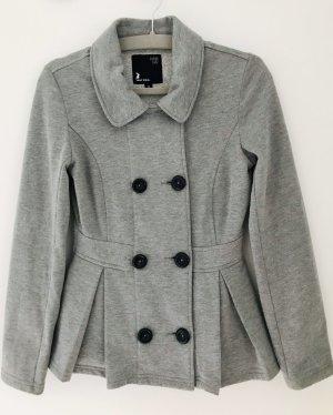 Sweatshirtjacke mit Schößchen Gr. 34 von Tally Weijl