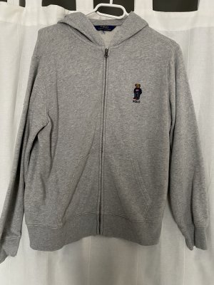 Polo Ralph Lauren Sweat Jacket light grey-grey