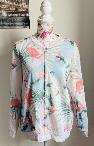 Zwillingsherz Sweat Jacket multicolored cotton