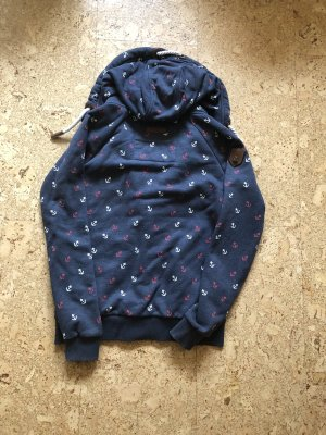 Naketano Chaqueta estilo camisa azul oscuro