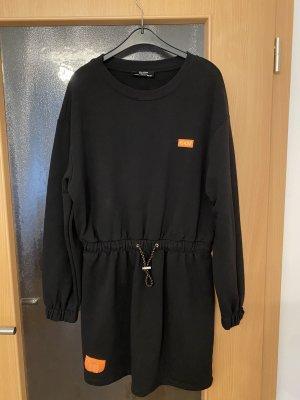 Bershka Swetrowa sukienka Wielokolorowy