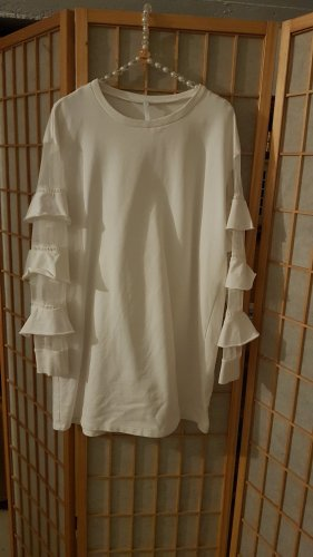 Imperial Vestido estilo camisa blanco