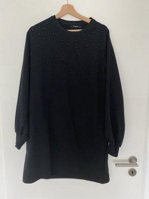 Sweatshirtkleid mit Perlen