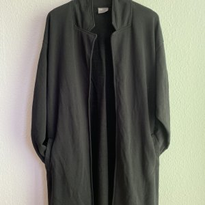 Asos Długa kurtka czarny