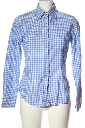 Sweet Deal Lumberjack Shirt blue-white allover print casual look
