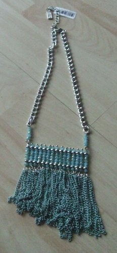 Sweet Deluxe Statement Necklace silver-colored-mint