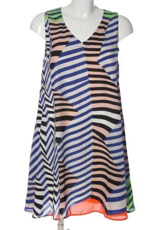 Sweet Miss A-Linien Kleid Streifenmuster Casual-Look