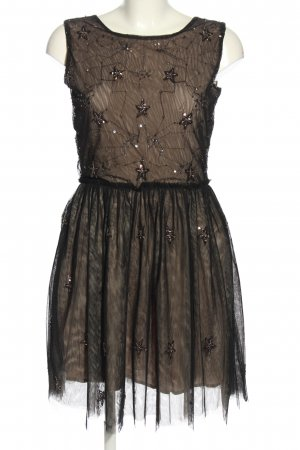 Sweet Miss Abendkleid creme-schwarz Elegant