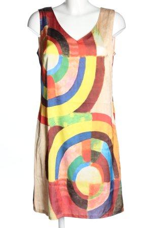 Sweet Miss Blusenkleid abstraktes Muster Casual-Look