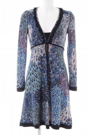 Sweet Miss Jerseykleid abstraktes Muster Casual-Look