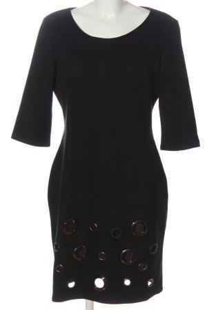 Sweet Miss Kunstlederkleid schwarz Elegant