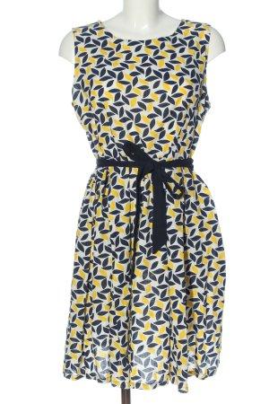 Sweet Miss A-Linien Kleid abstraktes Muster Elegant