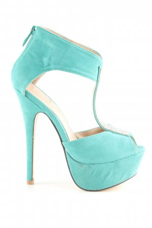 Sweet Shoes High Heel Sandaletten türkis Elegant