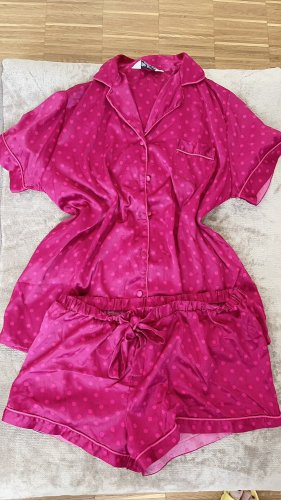 Primark Pyjama rouge framboise-rose
