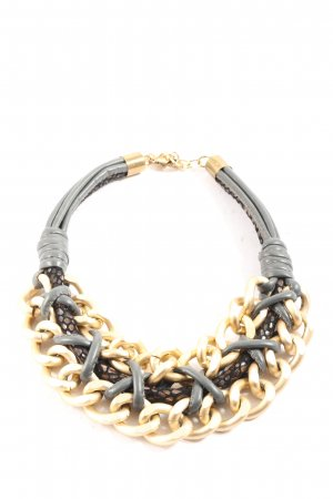 Sweet7 Link Chain gold-colored-black extravagant style