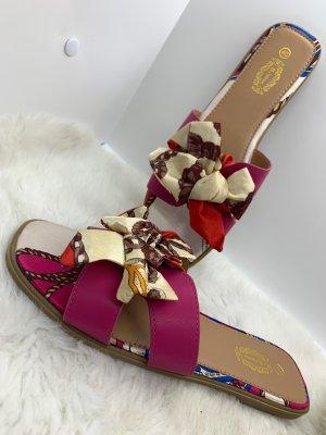Sandały plażowe różowy